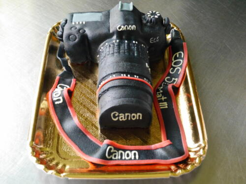 Fotoapparat-Torte