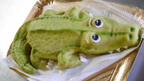 Krokodil-Torte